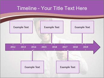 Handsome man PowerPoint Templates - Slide 28