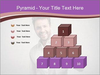 Handsome man PowerPoint Templates - Slide 31