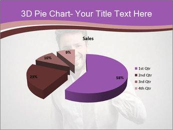 Handsome man PowerPoint Templates - Slide 35