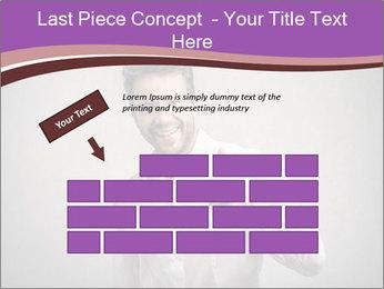 Handsome man PowerPoint Templates - Slide 46