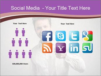 Handsome man PowerPoint Templates - Slide 5