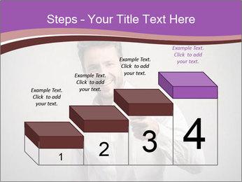 Handsome man PowerPoint Templates - Slide 64