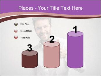 Handsome man PowerPoint Templates - Slide 65
