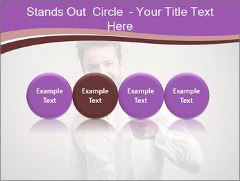 Handsome man PowerPoint Templates - Slide 76
