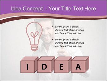 Handsome man PowerPoint Templates - Slide 80