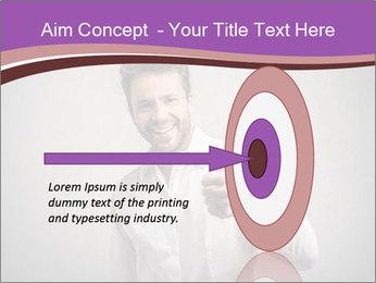 Handsome man PowerPoint Templates - Slide 83