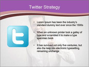 Handsome man PowerPoint Templates - Slide 9