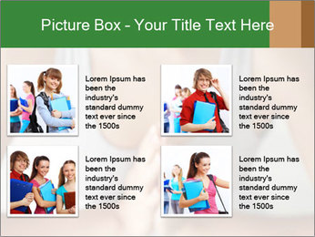 Woman doing yoga PowerPoint Templates - Slide 14