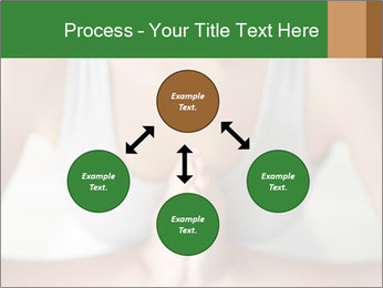 Woman doing yoga PowerPoint Templates - Slide 91