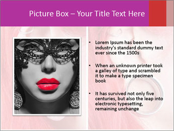 Stretched ear lobe piercing PowerPoint Template - Slide 13