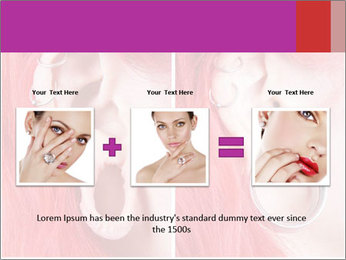 Stretched ear lobe piercing PowerPoint Template - Slide 22