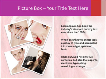 Stretched ear lobe piercing PowerPoint Template - Slide 23