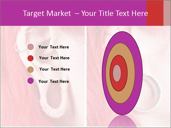 Stretched ear lobe piercing PowerPoint Template - Slide 84