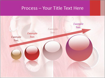 Stretched ear lobe piercing PowerPoint Template - Slide 87