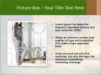 Woman legs in red PowerPoint Templates - Slide 13