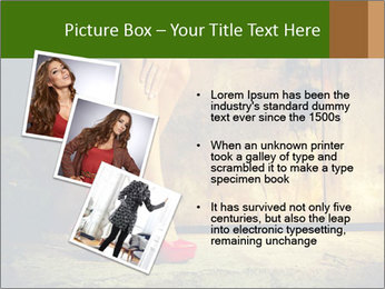 Woman legs in red PowerPoint Templates - Slide 17