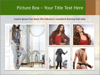 Woman legs in red PowerPoint Templates - Slide 19