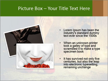 Woman legs in red PowerPoint Templates - Slide 20