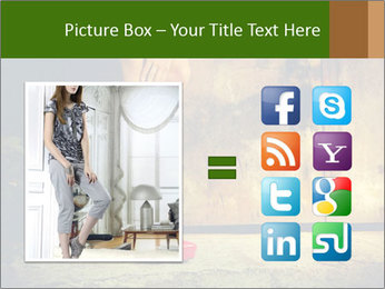 Woman legs in red PowerPoint Templates - Slide 21