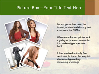 Woman legs in red PowerPoint Templates - Slide 23