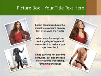 Woman legs in red PowerPoint Templates - Slide 24