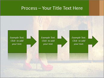 Woman legs in red PowerPoint Templates - Slide 88
