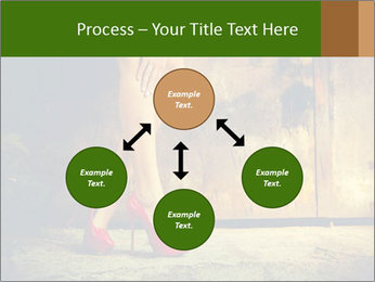 Woman legs in red PowerPoint Templates - Slide 91
