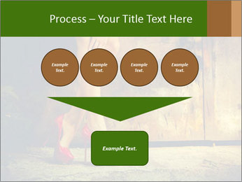 Woman legs in red PowerPoint Templates - Slide 93
