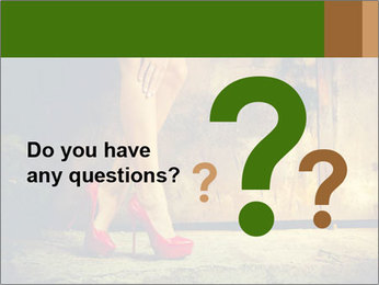 Woman legs in red PowerPoint Templates - Slide 96