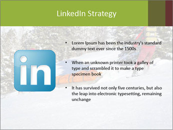 A ski patrol helping PowerPoint Templates - Slide 12