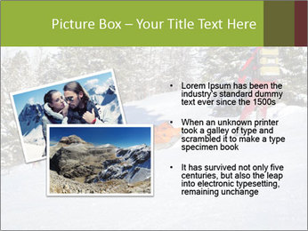 A ski patrol helping PowerPoint Templates - Slide 20