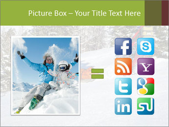 A ski patrol helping PowerPoint Templates - Slide 21