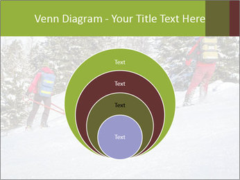 A ski patrol helping PowerPoint Templates - Slide 34