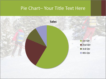 A ski patrol helping PowerPoint Templates - Slide 36