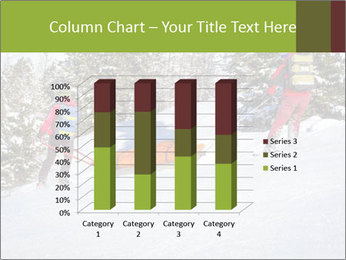 A ski patrol helping PowerPoint Templates - Slide 50