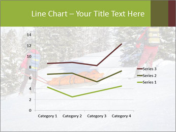 A ski patrol helping PowerPoint Templates - Slide 54
