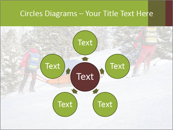 A ski patrol helping PowerPoint Templates - Slide 78