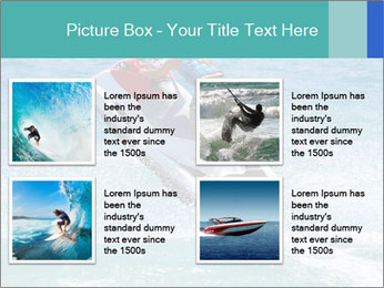 Man on jetski jump PowerPoint Template - Slide 14