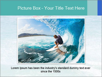 Man on jetski jump PowerPoint Template - Slide 15