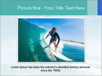 Man on jetski jump PowerPoint Template - Slide 16