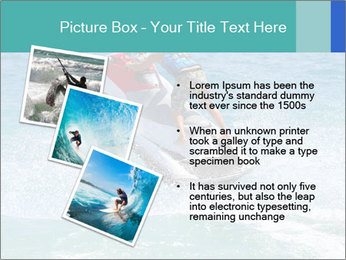 Man on jetski jump PowerPoint Template - Slide 17