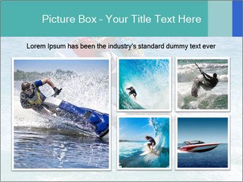 Man on jetski jump PowerPoint Template - Slide 19