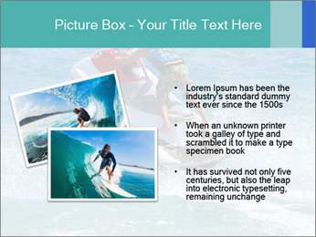 Man on jetski jump PowerPoint Template - Slide 20
