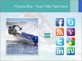 Man on jetski jump PowerPoint Template - Slide 21