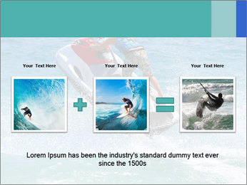 Man on jetski jump PowerPoint Template - Slide 22