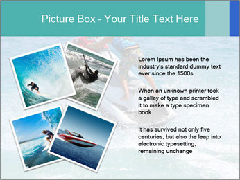 Man on jetski jump PowerPoint Template - Slide 23