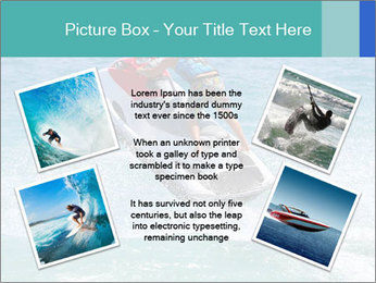 Man on jetski jump PowerPoint Template - Slide 24