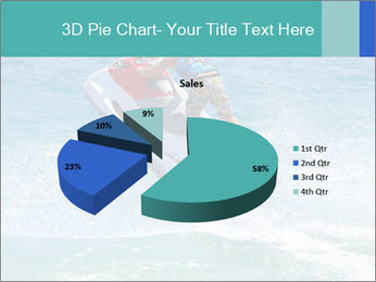 Man on jetski jump PowerPoint Template - Slide 35