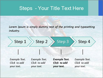Man on jetski jump PowerPoint Template - Slide 4