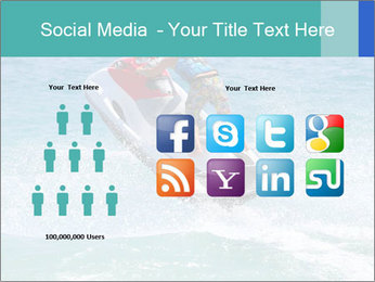 Man on jetski jump PowerPoint Template - Slide 5